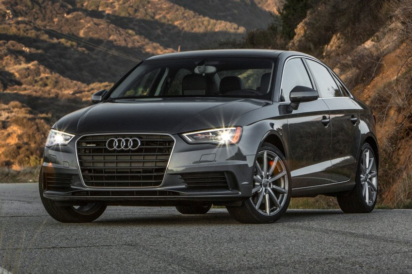 Ремонт глушителя Audi A3