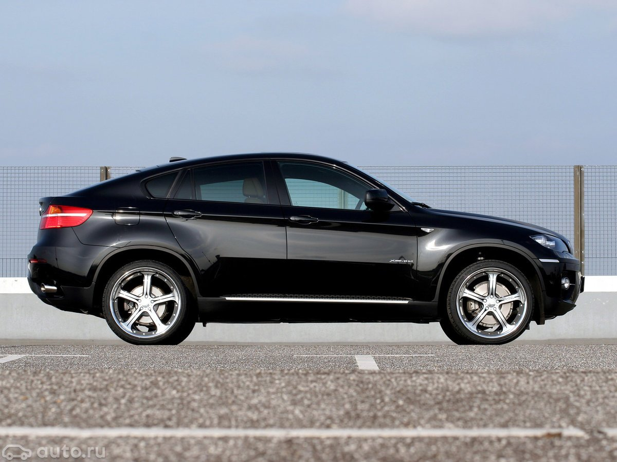 Ремонт глушителей BMW X6 E71