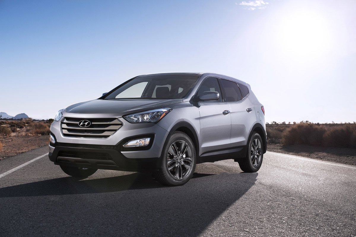 Ремонт глушителей Hyundai Santa Fe