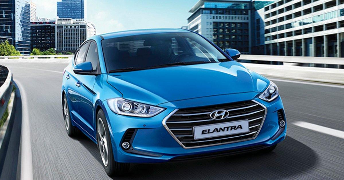 Ремонт глушителей Hyundai Elantra